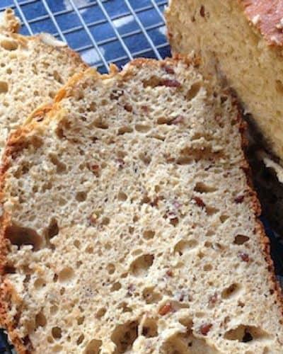 gluten free bread, paleo bread, protein bread
